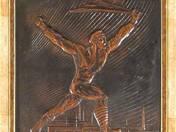 from Weisz Manfréd factory - Soviet Republic sculpture paquet