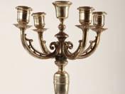 Viennese silver Five-arm Chandelier