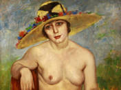 Nude in Hat