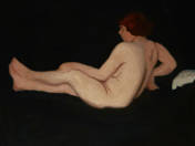 Female Nude with Coral (Sketch, 1914)
