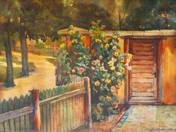 Bush at Fence