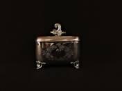 Pest Silver Rococo Sugar Box