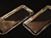 Bachruch Silver Plate pair