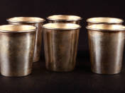 Pest Silver Ardent Spirits Set for 6 Persons