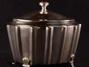 Art Deco Silver Sugar Box
