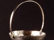 Vienna Silver Offering Basket