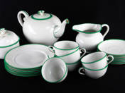 Old-Herend Tea Set for 6 Persons