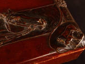 George Borg: Art Nouveau Box with Horse Relief