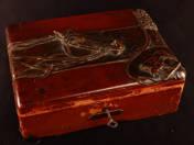 Art Nouveau Box with Horse Relief