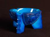Art-deco jade ashtray