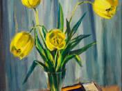 Still life with tulip