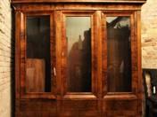 Biedermeier Three Doors Bookcase