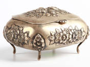 Silver Sugar Box from Pest