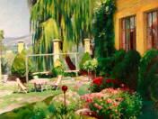 Garden in Nagybánya