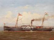 Baross Ship at Füred