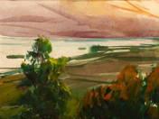 Lake Balaton from St. Michael Hill