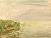 Landscape of Lake Balaton