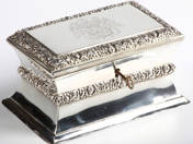 Viennese Antique Silver Sugarbox