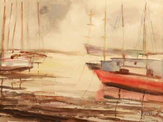AUCTION AT VASZARY VILLA 2017 - Balaton, Summer, Love... 100th Jubilee Auction!!! — Paintings and Scupltures (1)