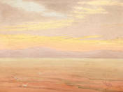 Sunset on Balaton, 1910