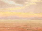 Sunset on Balaton, 1910