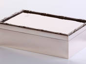 Viennese Silver Cigarbox