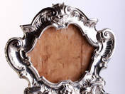Antique Silver Mirror Frame