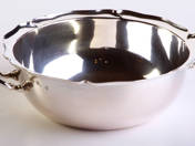 Viennese Silver Offering Bowl