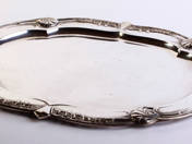 Viennese Silver Tray