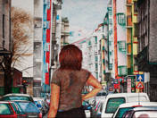 Street in Summer (2013)