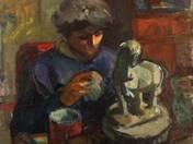 Sculptress (Brigitta Vidéky)