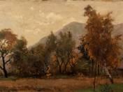 Landscape of Sashegy (1918)