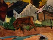 Bull on the Street of Szentendre