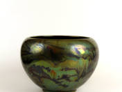 Zsolnay Pot with Water Decor
