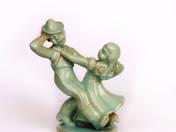 Komlós ceramic - Dancers