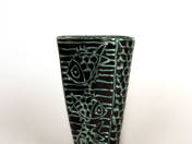 Gorka vase with fish decoration