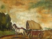 Landscape with Chariot