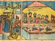 Emperor Solomon Welcomes his Visitors (1970's, Etiopia)