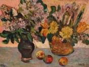 Still life in vases