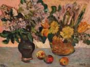 Still life in vases
