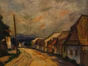 Street at Nagybánya