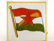 Flag with sheaf enameltable