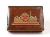 Csepel Factory wooden box