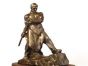 Worker Statue