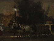 Arena Street at Night