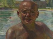 Self Portrait on Plage