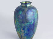 Zsolnay Vase with Water Decoration