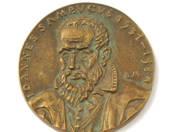Iohannes Sambucus plaque