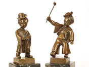 Little Lads (sculpture pair)