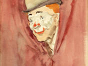Peeping Clown